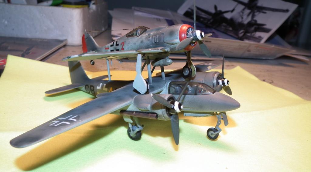 [Airfix] Miste Dornier Do 217 E + Me 328 Mistel10