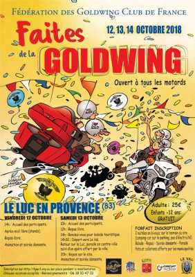 Faites de la GoldWing le Luc en Pce 20182010