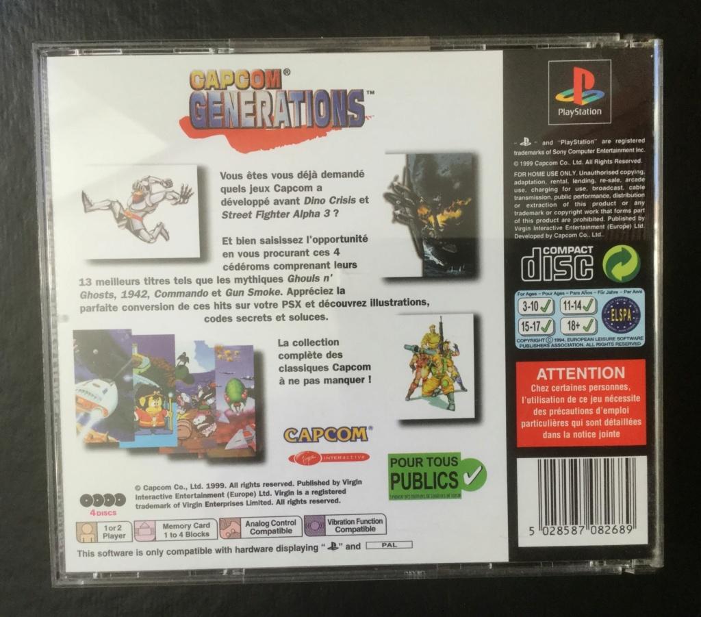 [VDS] Capcom generations PS1 2020-034
