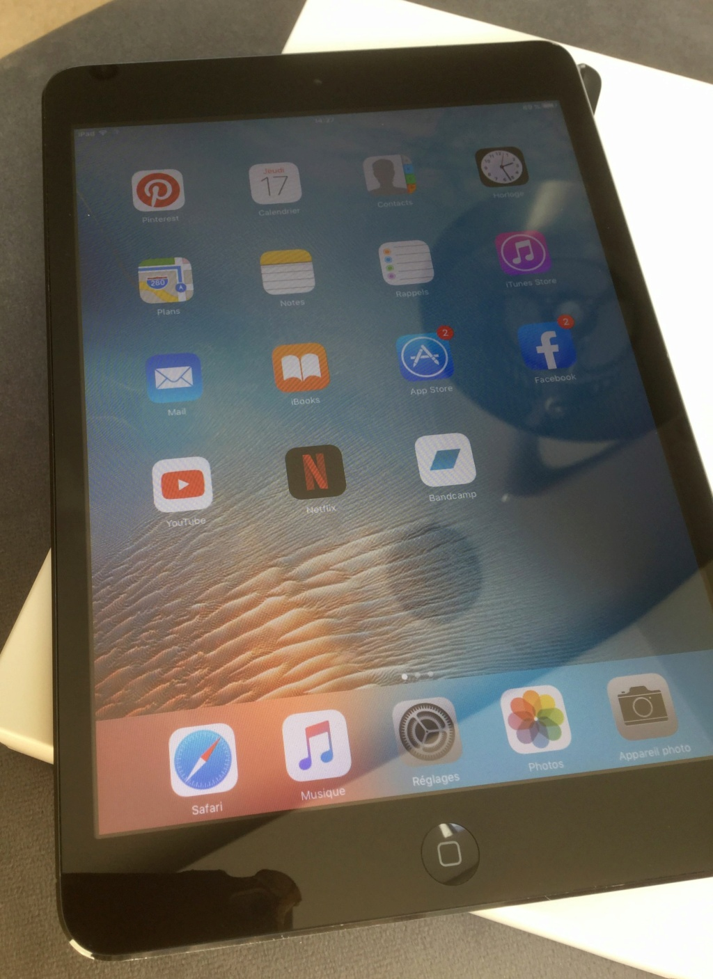 [VENDU] iPad mini 1e gén. A1432 32 Go Wifi 2020-039