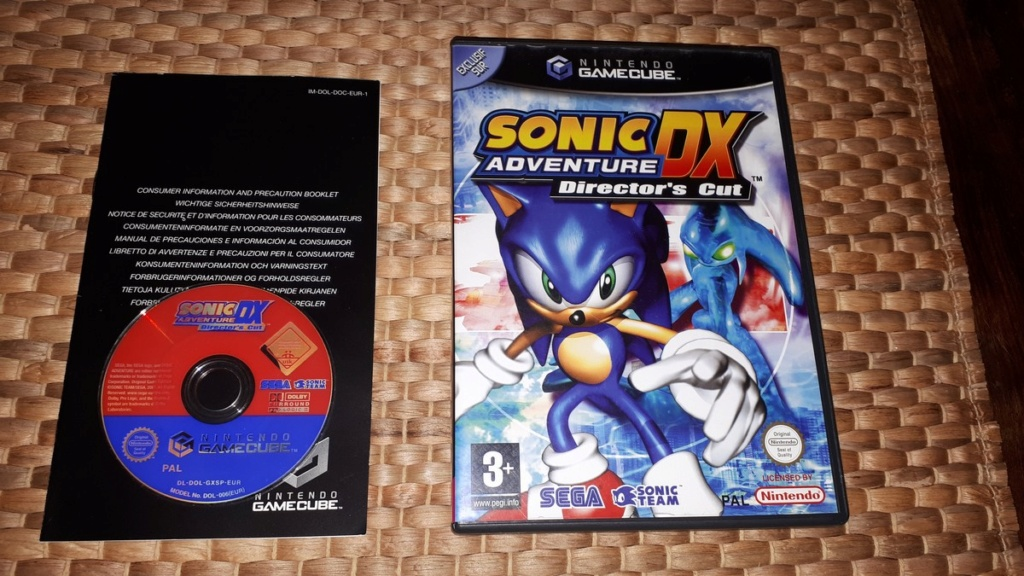 [VDS] Sonic Adventure DX sur Gamecube 20200711