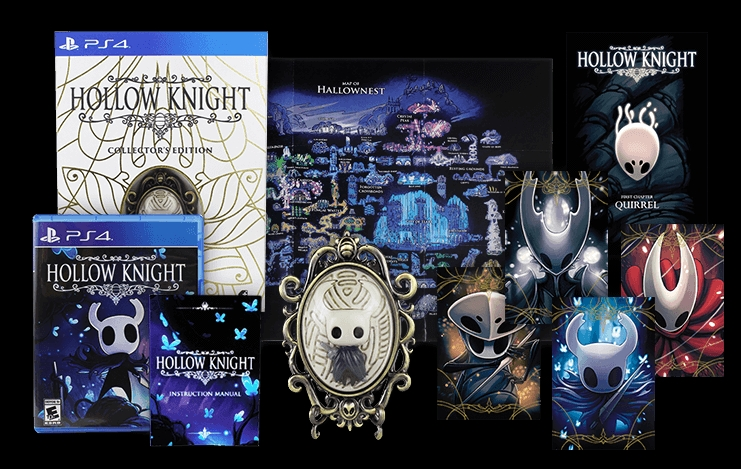 [PRECO] Hollow Knight edition simple (version euro) et collector (switch,ps4,pc) chez fangamer Hollow10