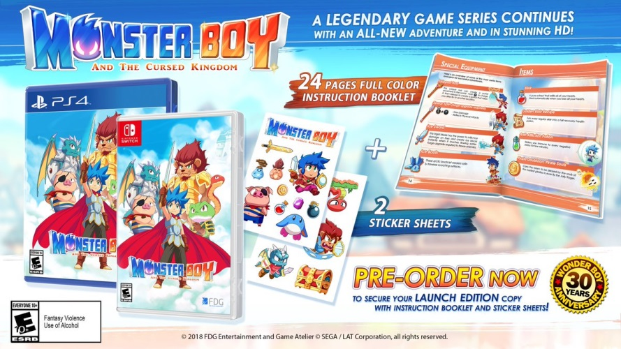 [PRECO] Monster Boy & the Cursed Kingdom sur Switch Monste10
