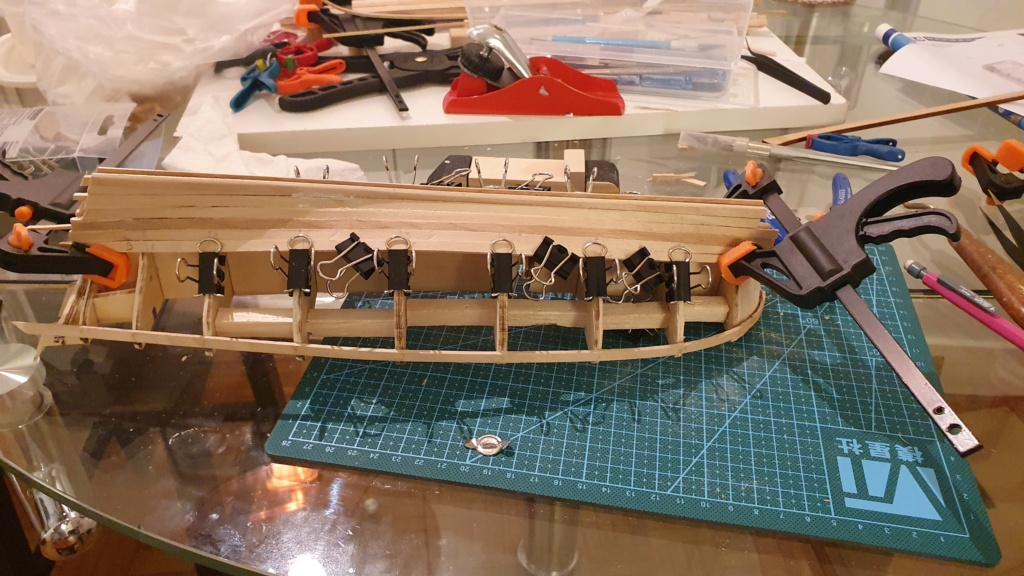 Renard Artesania Latina - Mon premier bateau - Page 2 20210222