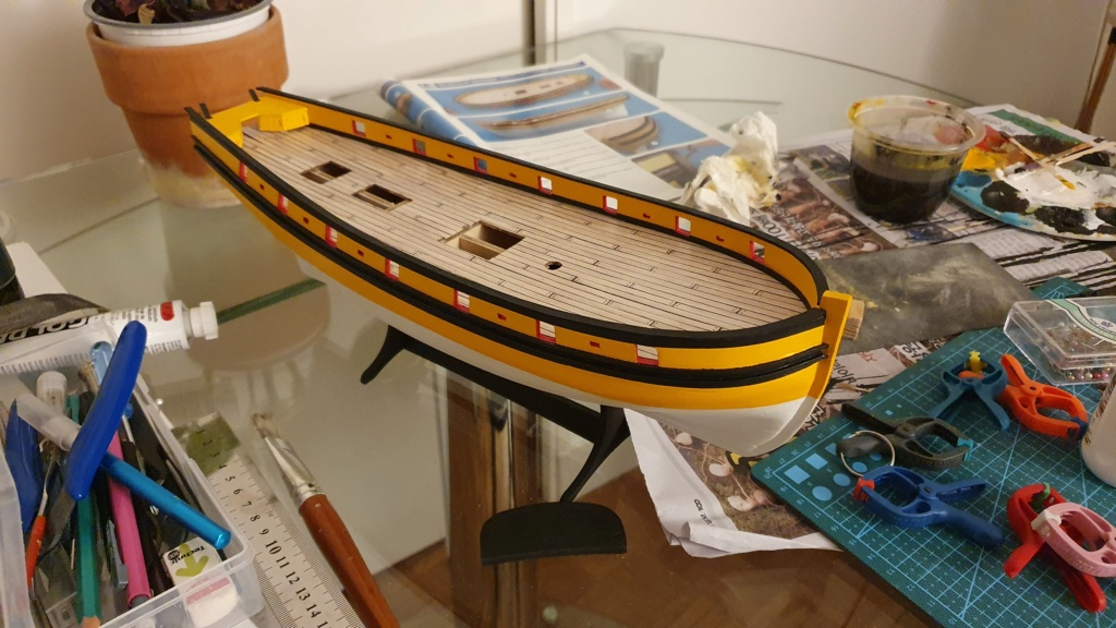 Renard Artesania Latina - Mon premier bateau - Page 2 20210310