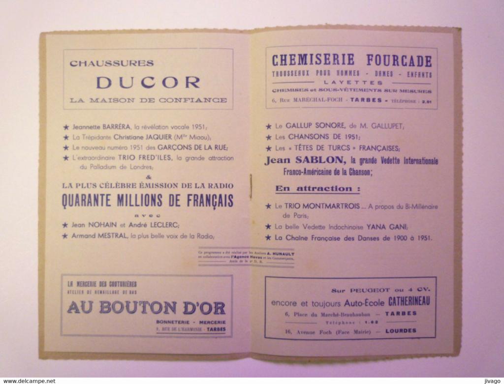 Tarbes 1951 Spectacle animé par Jean NOHAIN de la 2è D.B.  367_0012