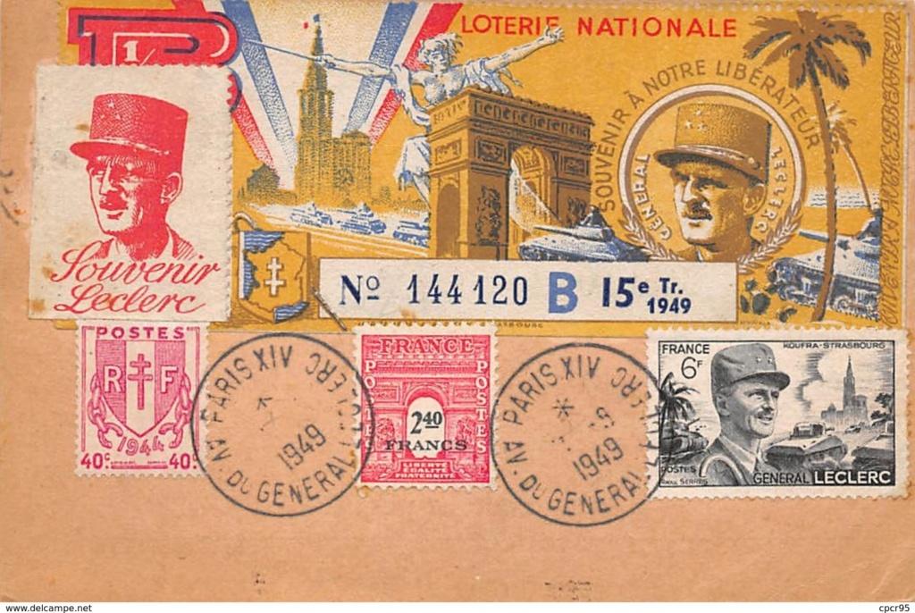 CARTE MAXIMUM. n°207907. 1949.  511_0011