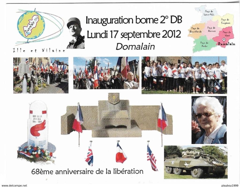Domalain Ille-et-Vilaine ( + Borne 233 ) 531_0010