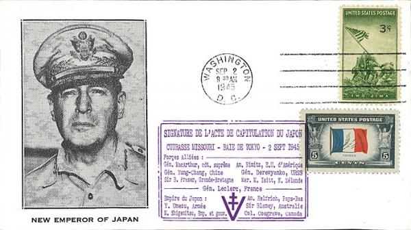 Tokyo 2 septembre 1945 Japon 6114-510