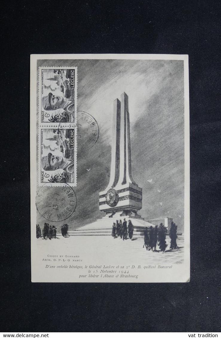 Baccarat : Journée LECLERC 28 octobre 1951 650_0014