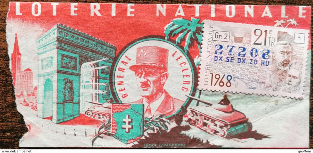Billet Loterie Nationale  935_0011