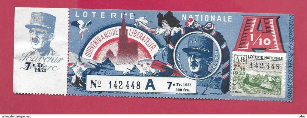 Billet Loterie Nationale  935_0012