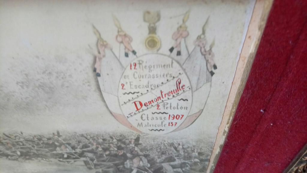 12ème régiment de cuirassiers 1907 Demont11