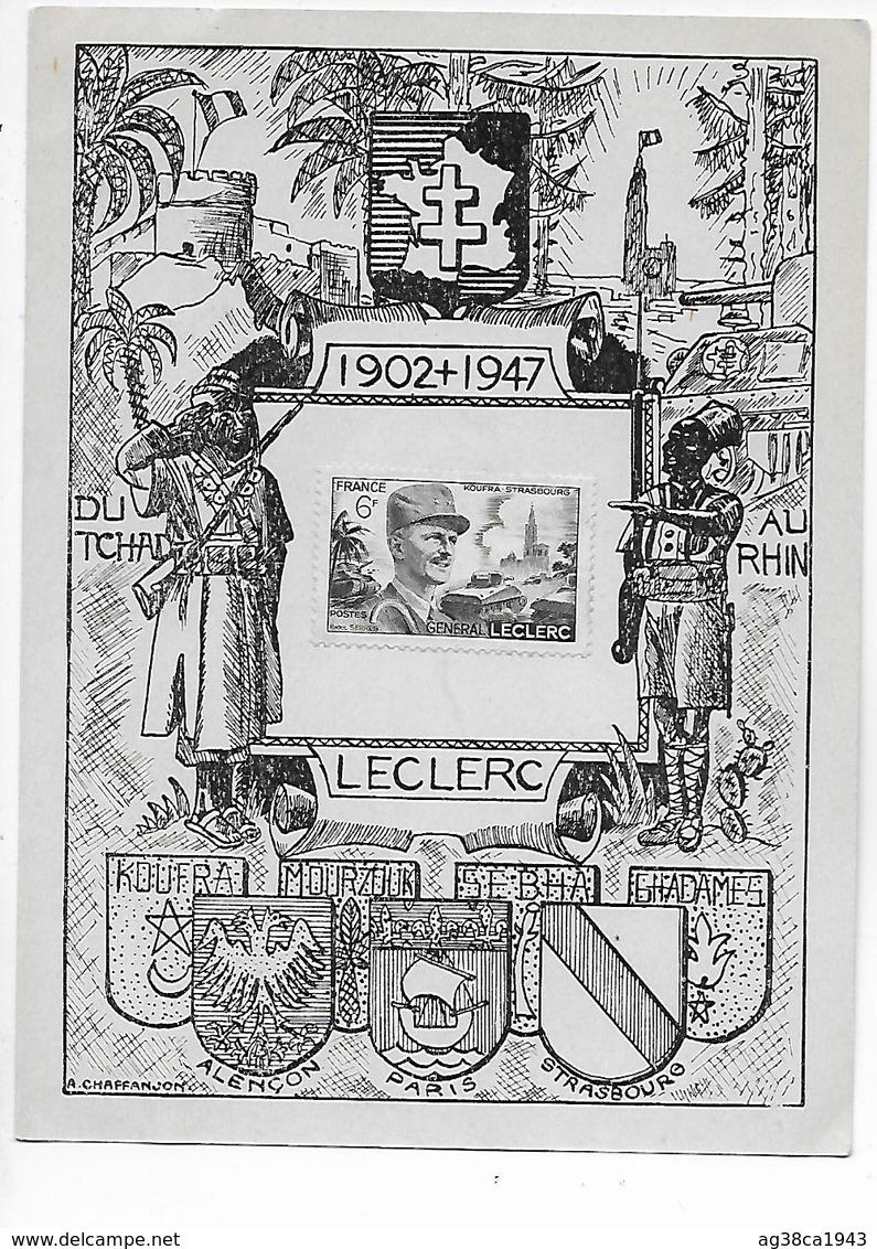 Fezzan 1949 F.F.L. colonne Leclerc Mourzoug Ghadam10