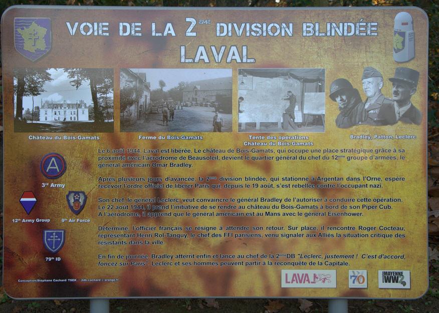 Laval Mayenne ( + Borne 222) (Bois Gamats) Laval210