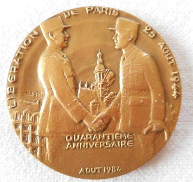 Médailles Monnaies Med110