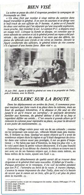 Les voitures du Général LECLERC Veh4410