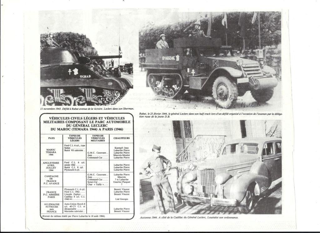 Les voitures du Général LECLERC Veh5510