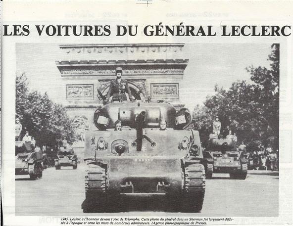 Les voitures du Général LECLERC Veh6610