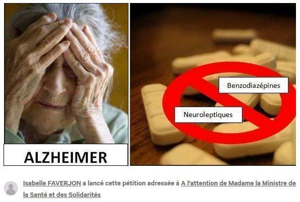Déremboursez les anxiolytiques et neuroleptiques prescrits aux malades atteints d'Alzheimer