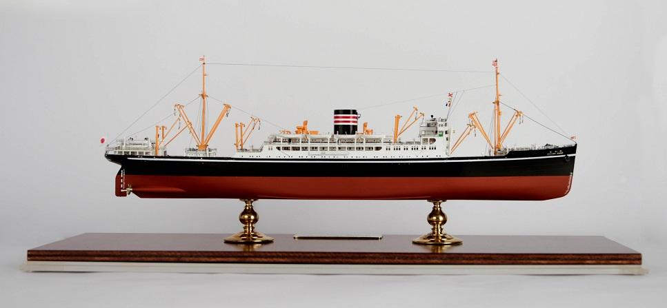 N.Y.K.Line Hikawa Maru  00810