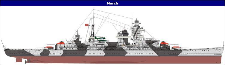 DKM Admiral Hipper Heavy Cruiser a 1/350 de Trumpeter Captur11