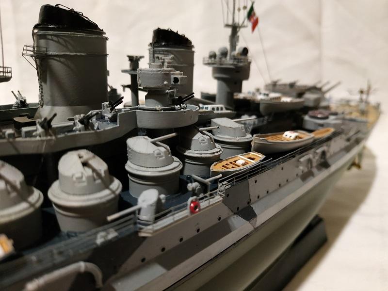 Regia Marina Littorio 1941 (Trumpeter 1/350°) de amoraga Fotos_42