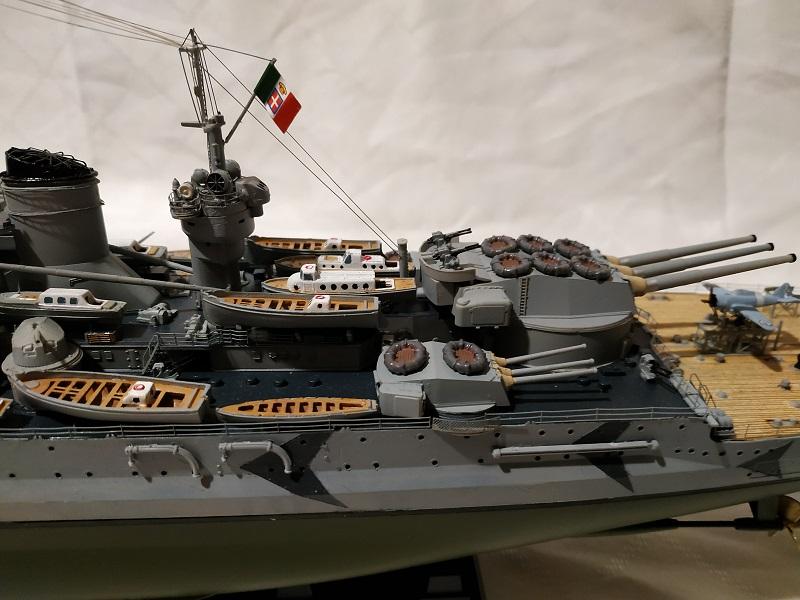 Regia Marina Littorio 1941 (Trumpeter 1/350°) de amoraga Fotos_47
