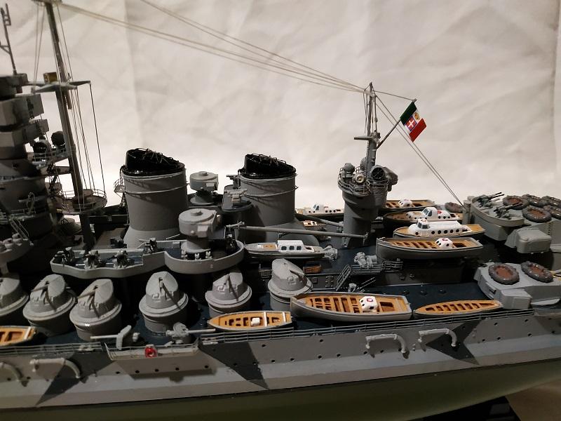 Regia Marina Littorio 1941 (Trumpeter 1/350°) de amoraga Fotos_51