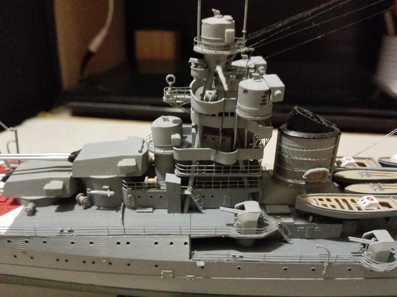 RN Zara Italian Heavy Cruiser 1/350  Img_2033