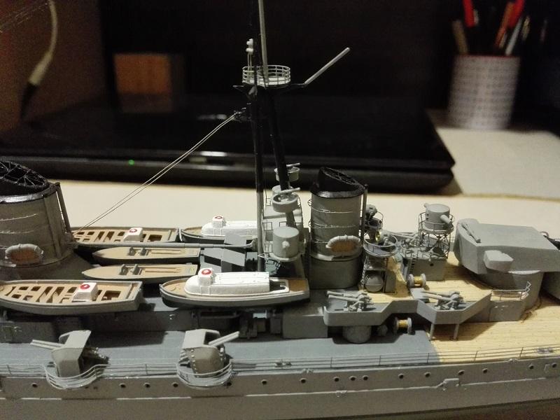RN Zara Italian Heavy Cruiser 1/350  Img_2034