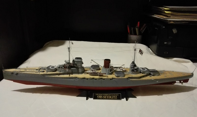Battlecruiser SMS Seydlitz 1/350 Img_2058