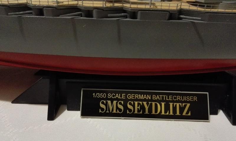 Battlecruiser SMS Seydlitz 1/350 Img_2059