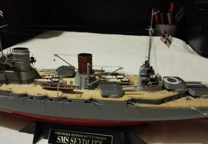 Battlecruiser SMS Seydlitz 1/350 Img_2062