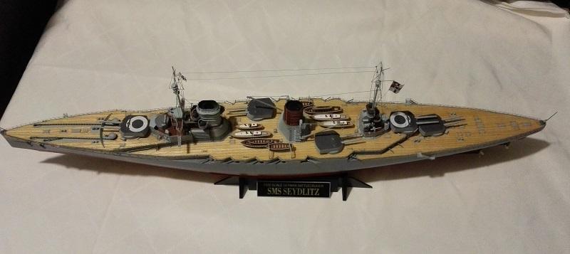 Battlecruiser SMS Seydlitz 1/350 Img_2065