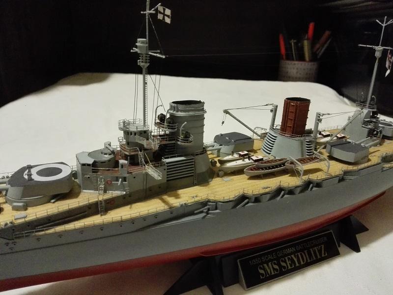 Battlecruiser SMS Seydlitz 1/350 Img_2070