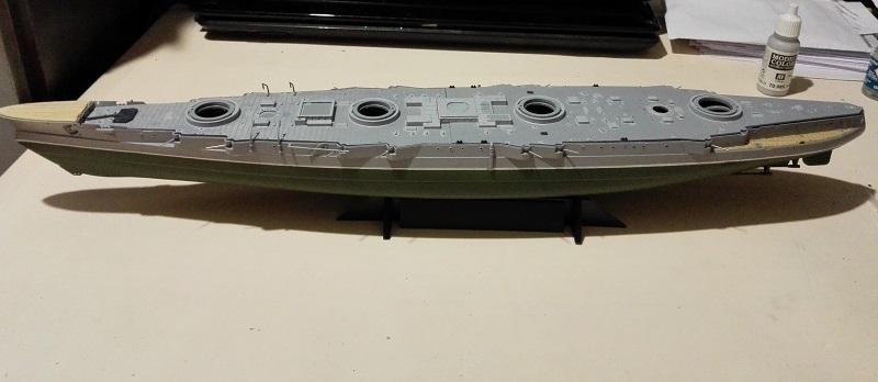 Marat Battleship Russian de Zvezda a 1/350 Img_2111
