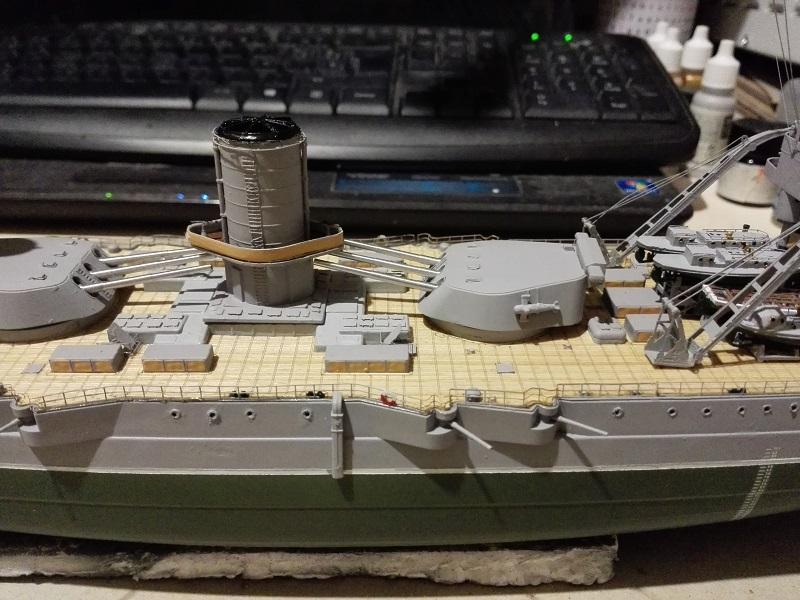 Marat Battleship Russian de Zvezda a 1/350 Img_2123