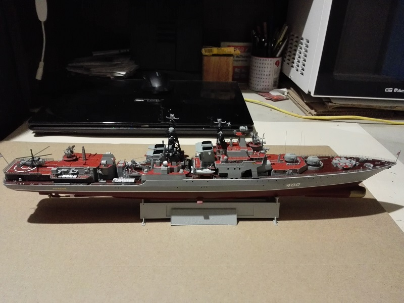 Russian Navy Udaloy a 1/350de Trumpeter Img_2128