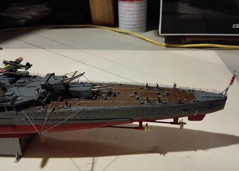 IJN Maya Heavy Cruiser de Aoshima a 1/350 Img_2154