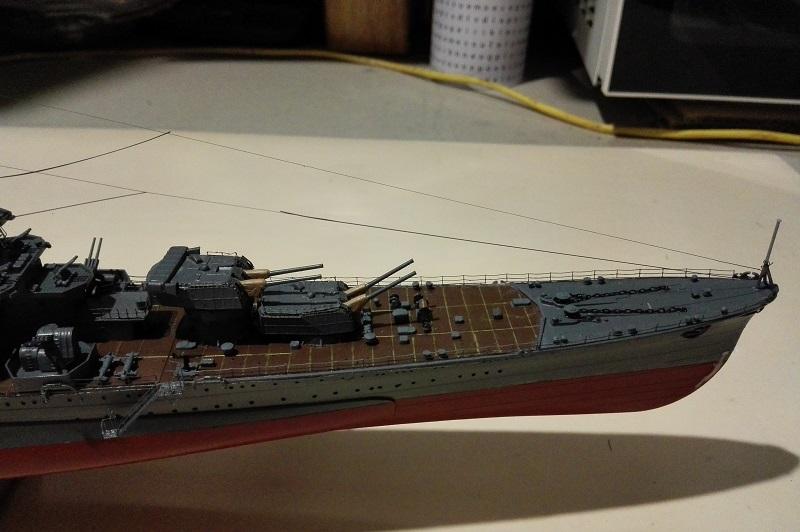 IJN Maya Heavy Cruiser de Aoshima a 1/350 Img_2160