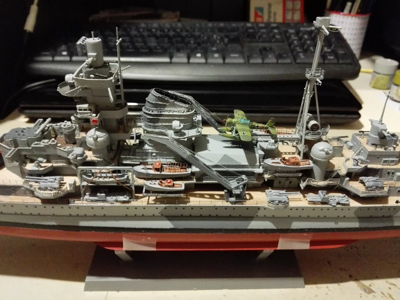 DKM Admiral Hipper Heavy Cruiser a 1/350 de Trumpeter Img_2194