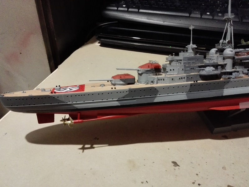DKM Admiral Hipper Heavy Cruiser a 1/350 de Trumpeter Img_2195