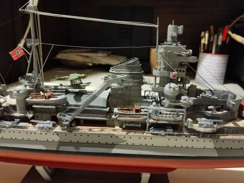 DKM Admiral Hipper Heavy Cruiser a 1/350 de Trumpeter Img_2215