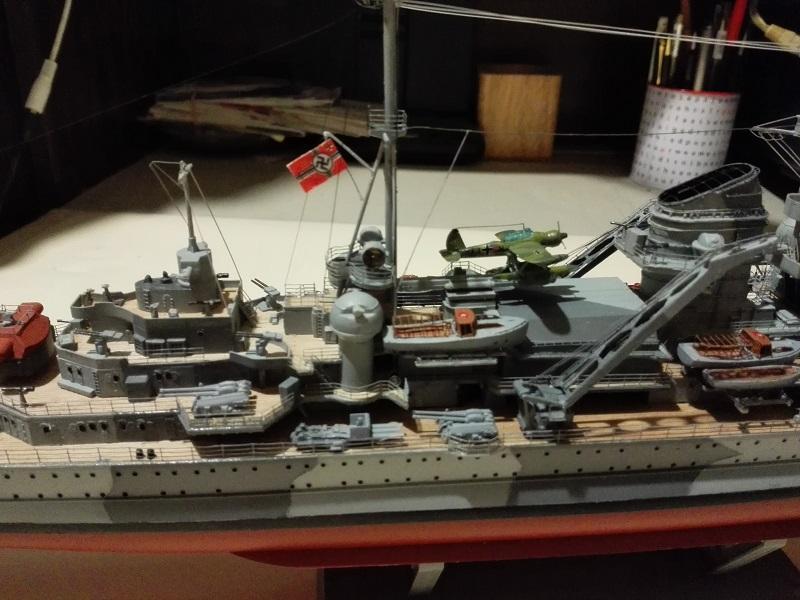 DKM Admiral Hipper Heavy Cruiser a 1/350 de Trumpeter Img_2216