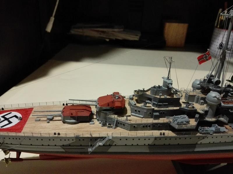 DKM Admiral Hipper Heavy Cruiser a 1/350 de Trumpeter Img_2217