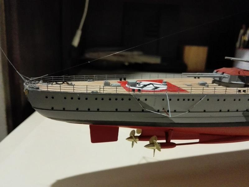 DKM Admiral Hipper Heavy Cruiser a 1/350 de Trumpeter Img_2218