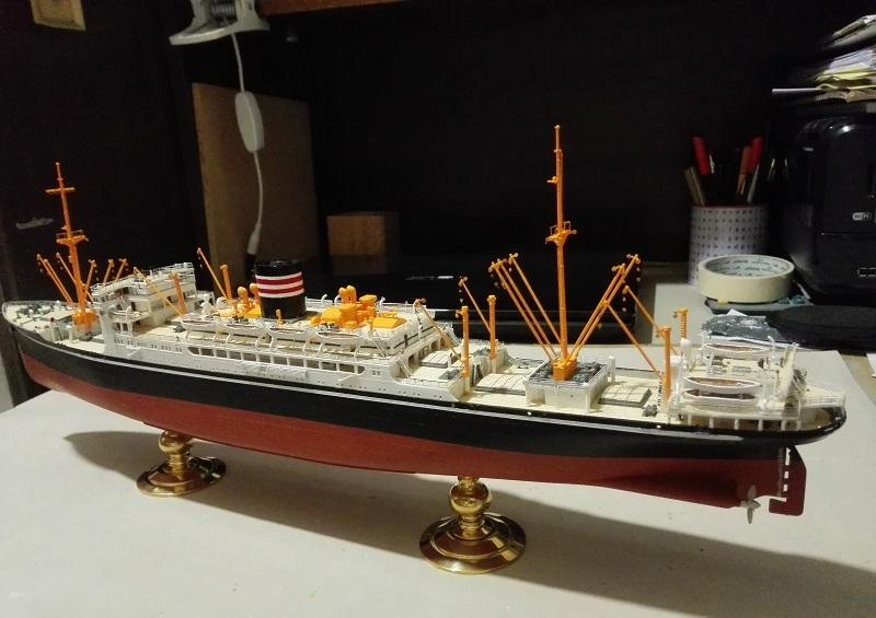 N.Y.K.Line Hikawa Maru  Img_2312