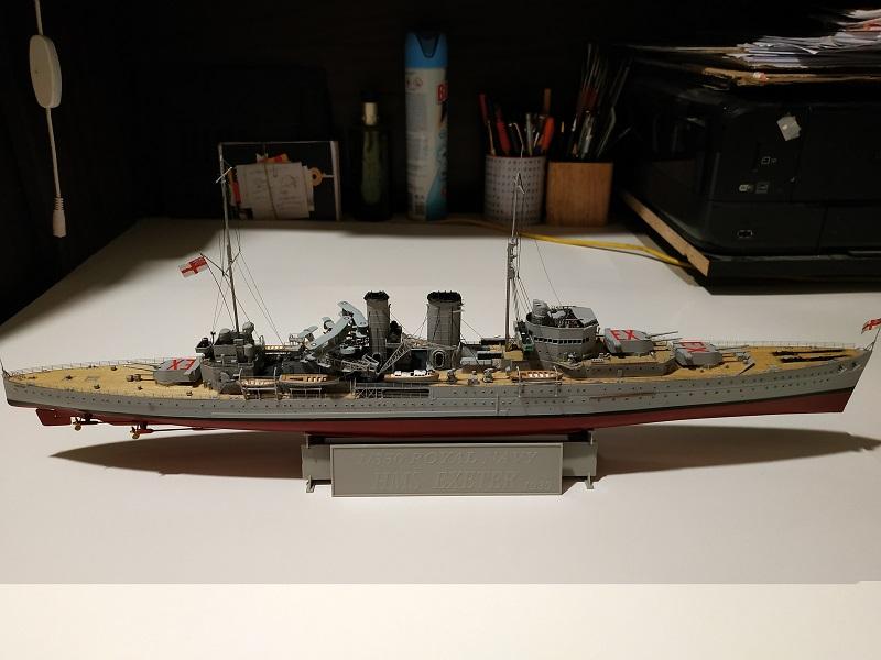 HMS Exeter 1/350 de Trumpeter Img_2410