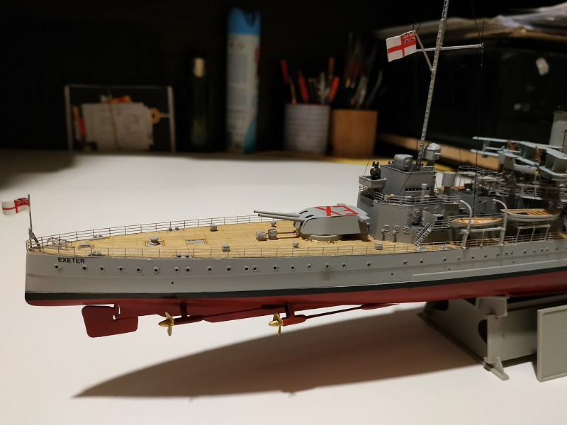 HMS Exeter 1/350 de Trumpeter Img_2411